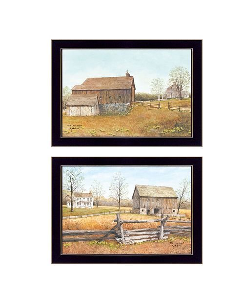 "Trendy Decor 4U Trendy Decor 4U The Homestead Collection By John Ward, Printed Wall Art, Ready to hang, Black Frame, 20"" x 14"""