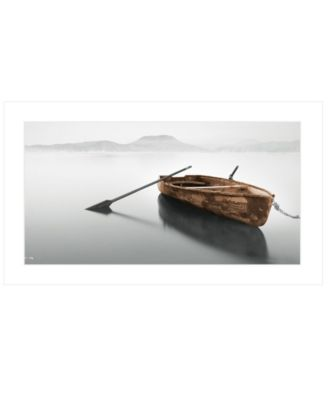 """Solitude by Moises Levy, Ready to hang Framed Print, White Frame, 39"""" x 21"""""""
