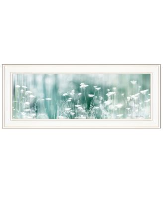 "Dreamy Meadow by Lori Deiter, Ready to hang Framed Print, White Frame, 27"" x 11"""