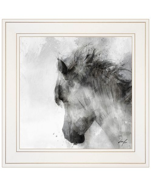 "Trendy Decor 4U Trendy Decor 4U Journey to the West II by Ken Roko, Ready to hang Framed print, White Frame, 15"" x 15"""