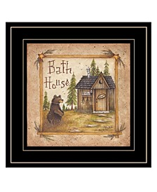 Trendy Decor 4U Bath House by Mary Ann June, Ready to hang Framed Print Collection