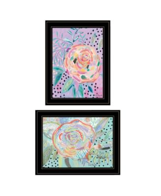 Bloom for Yourself 2-Piece Vignette by Kait Roberts, Black Frame, 15