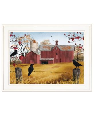"""Autumn Gold by Billy Jacobs, Ready to hang Framed Print, White Frame, 19"""" x 15"""""""