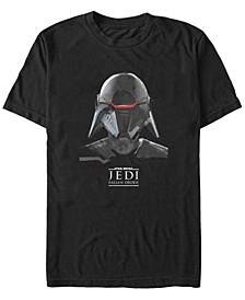 Men's Jedi Fallen Order Inquisitor Helmet T-shirt