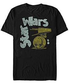 Men's Episode IX Distressed Logo T-shirt