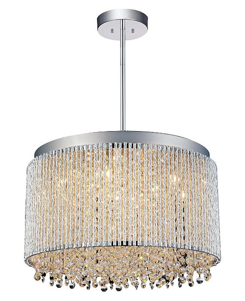 CWI Lighting Claire 10 Light Chandelier