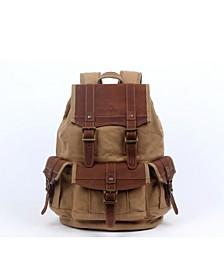 Turtle Ridge Canvas Backpack