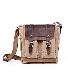 Turtle Ridge 4-Pocket Canvas Crossbody Bag