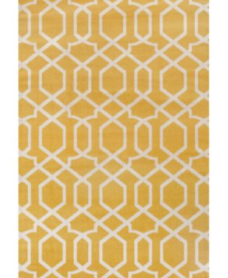 Home Alba Alb304 Yellow 9' x 12' Area Rug