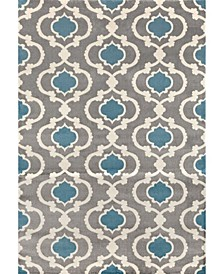 Home Alba Alb310 Blue/Gray Area Rug Collection