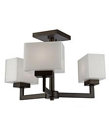 Cube Light Semi Flush Mount