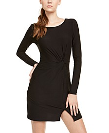 Juniors' Twisted Bodycon Dress