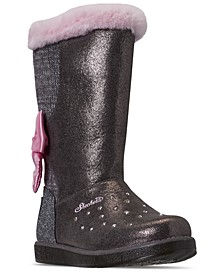 Little Girls Twinkle Toes Glitzy Glam Cozy Cuties Boots from Finish Line