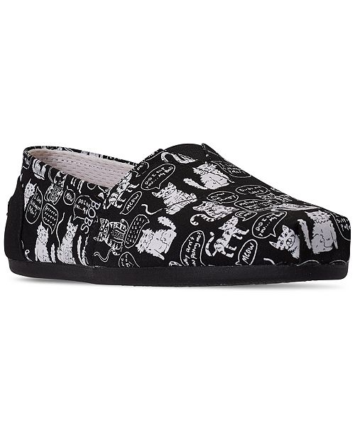 Skechers Women's BOBS for Dogs and Cats Plush Slip-On Casual Flats from Finish Line