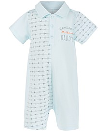 Baby Boys Handsome Arrow-Print Cotton Sunsuit, Created For Macy's