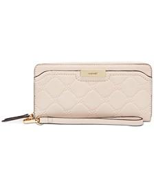 Kennedy Zip Around Wristlet Wallet