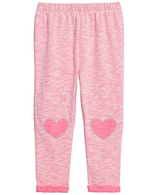 Baby Girls Heart Trim Trim Jogger Pants, Created For Macy's