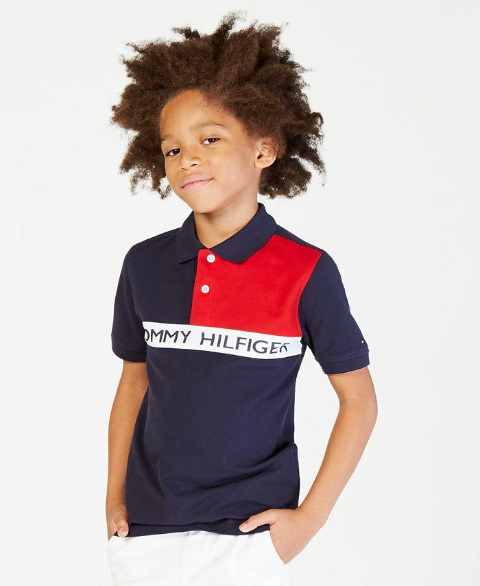 Tommy Hilfiger - Colorblocked Polo, Big Boys