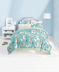 Llamas 5-Piece Twin Bedding Set