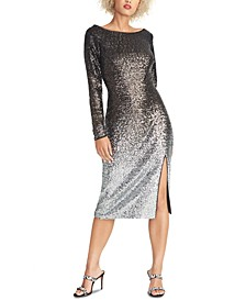 Ombré Sequin Dress
