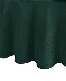 "Elrene Poinsettia Jacquard Holiday Tablecloth - 90"""