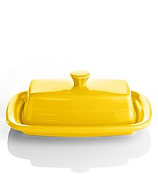 Sunflower XL Covered Butter Dish