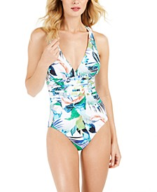 In The Moment Tummy-Control One-Piece Swimsuit