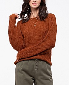 Crisscross Knit Sweater