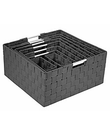 Weave 9 Piece Basket Set