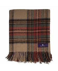 Highland Tartan Tweed Pure New Wool Throw