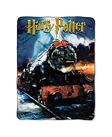 Harry Potter Hogwarts Express Micro Fleece Throw