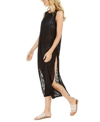 Burnout Maxi Dress Swim Cover-Up, Created for Macy's