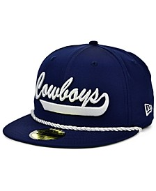 Little Boys Dallas Cowboys On-Field Sideline Home 59FIFTY Fitted Cap