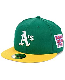 Oakland Athletics World Series Patch 59FIFTY Cap