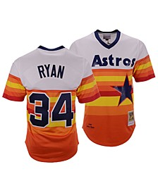Men's Nolan Ryan Houston Astros Authentic Cooperstown Jersey