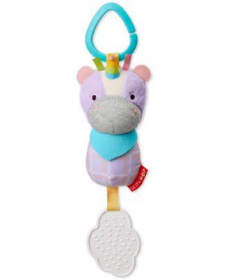 Skip Hop Unicorn Chime and Teethe Toy