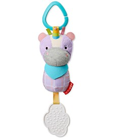 Unicorn Chime and Teethe Toy