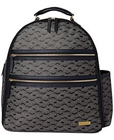 Deco Saffiano Diaper Backpack
