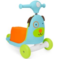 Skip Hop Zoo 3-in-1 Ride-On Dog Toy Scooter