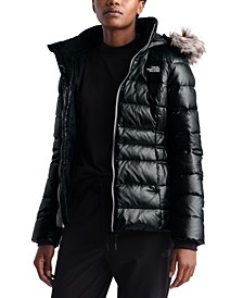 Women's Gotham Hooded Faux-Fur-Trim Parka Coat