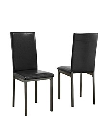 Cordova Upholstered Dining Chairs, Set of 2