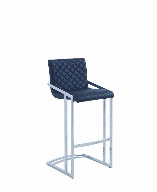 Coaster Home Furnishings Harrison Bar Stool with Quilted Upholstery