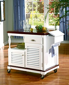 Hobart 2-Door Kitchen Island