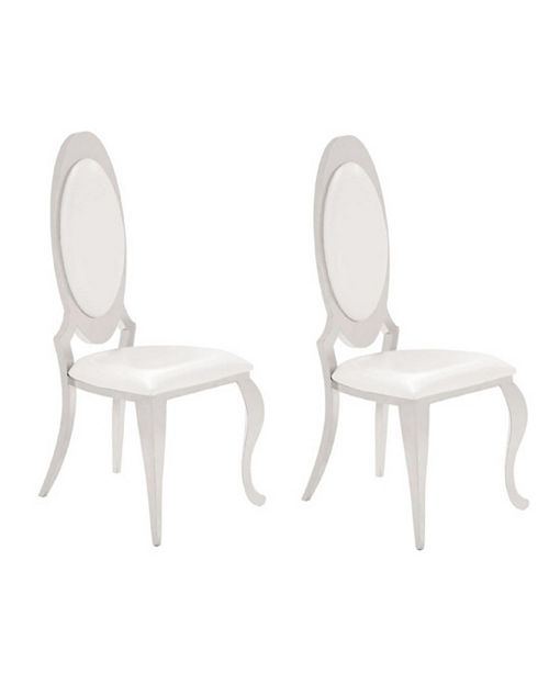 Coaster Home Furnishings Lexington Side Chairs Creamy, Set of 2