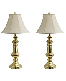 Decor Therapy Pair of Touch Control Table Lamps Set of 2