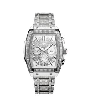 Men's Echelon Platinum Series Diamond (3 ct. t.w.) Stainless Steel Watch