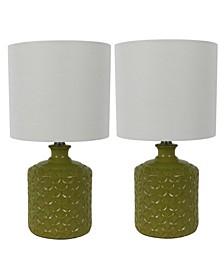 Decor Therapy Della Led Table Lamps Set of 2