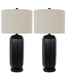 Decor Therapy Russell Open Frame Lamps Set of 2