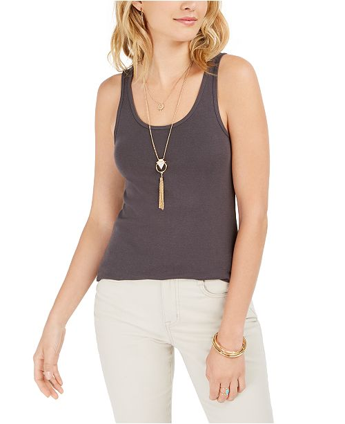 Style & Co Cotton Tank Top, Created for Macy's