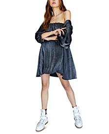 Mara Velvet Mini Dress